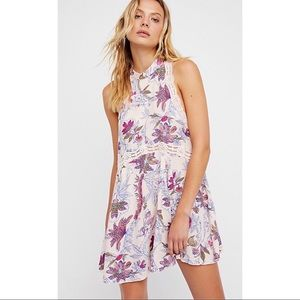 NWT: Free People She Moves Slip Dress